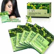 6x20ml BSY NONI Herbal Original Black Hair Magic Natural Essence Shampoo Dye