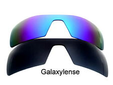 Galaxy Replacement Lenses For Oakley Oil Rig Black&Blue Polarized 2Pair 100%UVAB