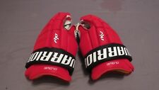"Very Lightly Used Warrior AX1 Pro Stock NJ Devils 14"" Hockey Gloves! Clowe"