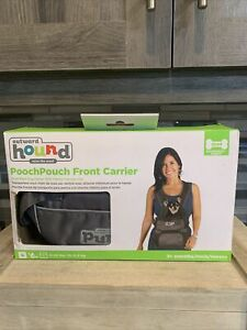 Outward Hound Gray Pooch Pouch Front Carrier Size Small for up to 10lb Dogs