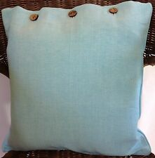 Cushion Cover Ice Blue Scatter Decorator Throw Sofa Couch Daybed Chair Decor