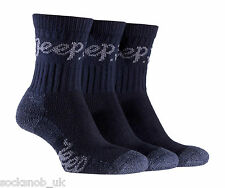 Womens Luxury Jeep Terrain Walking Hiking Socks 4-7 UK 37-42 EUR 5-8 USA Navy
