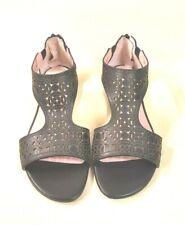 ё 003)Luxsus Marken Si by Sinela Sommer Schuhe Sandalen Leder Gr.36 NEU UVP145€
