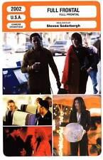 FICHE CINEMA : FULL FRONTAL - Roberts,Duchovny,Keener,Stamp,Soderbergh 2002