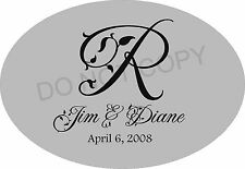 Monogram Vinyl Lettering Wall art decals Home Decor words family love kitchen