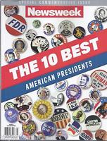 Newsweek Magazine The 10 Best American Presidents Special Commemorative Issue