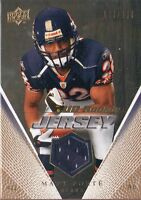 2008 UD Rookie Event JERSEY Gold - MATT FORTE #RJ-MF BV$24 #/350 Bears RC