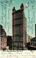Vintage Postcard - Posted 1909 Park Row Building New York City NY #4430