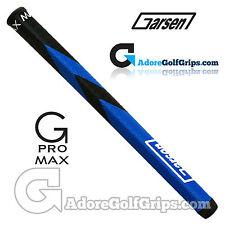Garsen Golf 15 Inch G-Pro Max Jumbo Putter Grip - Black / Blue + Grip Tape