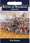 Battle of Waterloo, Cavalry  English Pewter pin brooch