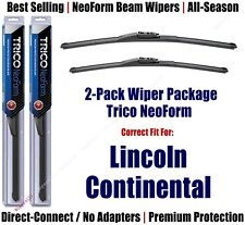 2-Pack Super-Premium NeoForm Wipers fit 2017+ Lincoln Continental - 162413/2013