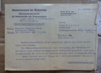 GERMANY OFFICIAL HIGH COMMAND FIELD POST 1944