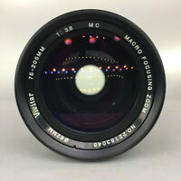 MINT Canon FD fit 75 - 205 mm Ultra Zoom Lens, Made in Japan, For Mirrorless