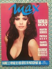 MAX French Mars 1992 Mathilda May (Poster) Daryl Hannah Martin Scorsese Griffith