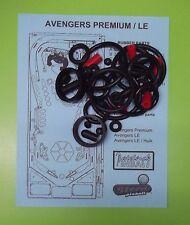 Stern Avengers LE / Premium / Hulk rubber ring kit