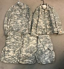 US ARMY ACU DIGITAL Small Regular Uniform Shirt & Pants CAMOUFLAGE Lot 5