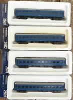 TOMIX Spur N  Konvolut 4 Stück Personenwagen der JNR Japan in OVP, sehr gut