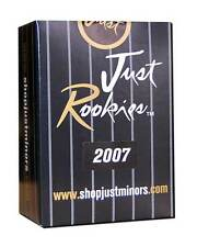 2007 Just Rookies Factory Set - 6-ct lot (Just Minors) Look for Arrieta autos!!