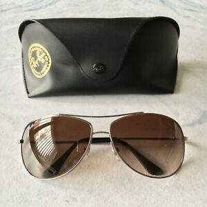 Ray Ban Metal Aviator Sunglasses RB3293 004/13