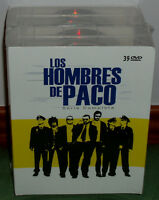 LOS HOMBRES DE PACO 1-9 TEMPORADAS SERIE COMPLETA 39 DVD NUEVO (SIN ABRIR) R2