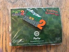 SDCC Comic Con 2013  Plants vs Zombies 2 Launch Exclusive Pin NEW IN PACKAGE
