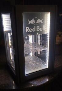Frigo Frigorifero Redbull 4 Vetri Ecoled Fridge Red bull