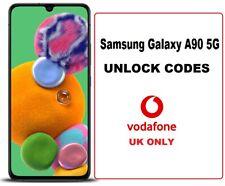 Vodafone UK Samsung Galaxy A90 5G UNLOCK CODE  Vodafone UK network only