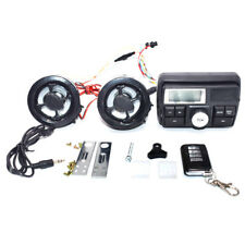 Motorcycle Anti-theft FM Radio MP3 Audio Stereo Sound Speaker System