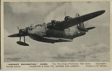 Postcard 1530 - Aircraft/Aviation Real Photo Short Sunderland I