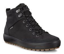 ECCO Men's Soft 7 TRED GTX High Sneaker Boot GORE-TEX Black US 11/11.5 / EU 45