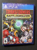 Transformers Battlegrounds (PS4) NEW