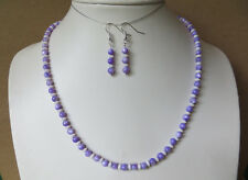 Handmade dainty MOP shell necklace and earrings  N728