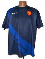 FRANCE NATIONAL TEAM RUGBY UNION SHIRT JERSEY NIKE SIZE XL ADULT