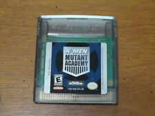 X-Men Mutant Academy Nintendo Game Boy Color Game Tested & Working