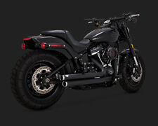 Harley Vance & Hines Big Shots Décalés Noir Softail Milwaukee 8