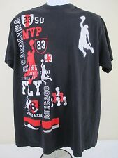 MICHEAL JORDAN 23 Six Time Rookie Gold Medal Chicago MVP T-Shirt #805B