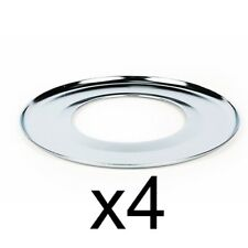 (4) Gas Range Drip Pans Round 7 1/2 inch for GE WB32X113