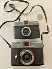 Vintage 1960's Diana Cameras Water Pistol Squirt Trick Cameras Set Hong Kong