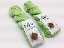 2 - Cascade Yarns Ultra Pima 100% Pima Cotton Lime #3739