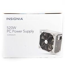 New Insignia- 520W ATX Desktop PC Power Supply and 5 80MM Case Fans New
