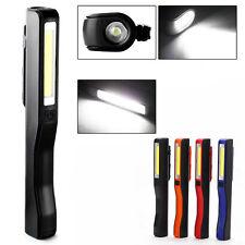 Lampe de travail LED inspection COB USB Stylo Magnétique Clip Torche UTILE