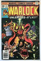 Warlock #15 - 1st Gamora Cover Final Issue 1976 Marvel Comics