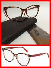 Bottega Veneta BV0025O 003 Blond Havana / Red Prescription Frames NWT