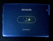 Slim Metal Aiwa HS-PX550 Cobalt Blue Walkman Dolby B Working Cassette Player VGC