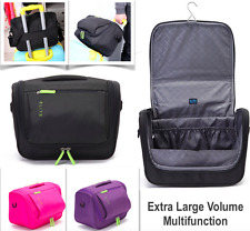 Quality Extra Large Travel Toiletry Bag Hanging Organiser Cosmetic Makeup Bag