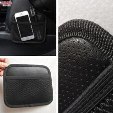 Creative Simple Car Seat Side Back Storage Net Bag Phone Holder Pocket Organizer(Fits: More than one vehicle)