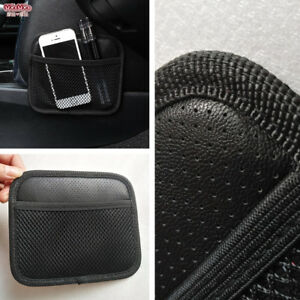 CREATIVE SIMPLE CAR SEAT SIDE BACK STORAGE NET BAG PHONE HOLDER POCKET ORGANIZER