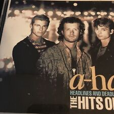AHA 💿 The Headlines And Deadlines - Hits Of A-Ha - best of CD