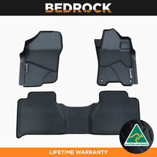 BEDROCK Floor Liners For Nissan Navara Manual NP300 2015-New 3D Floor Mats 3PC