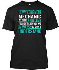 Great gift Heavy Equipment Mechanic Hanes Tagless Tee...